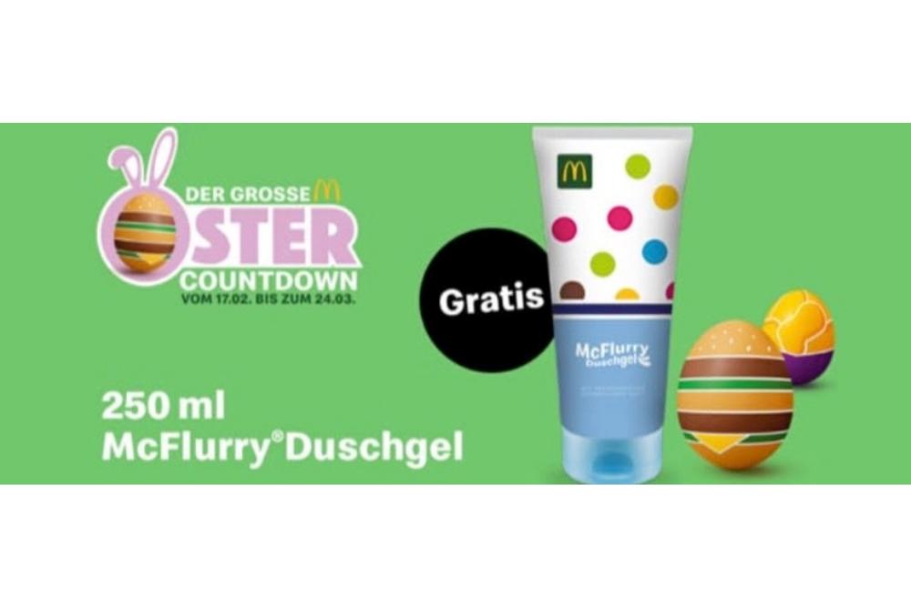 MarkenNews: McFlurry von McDonalds als Shower Gel