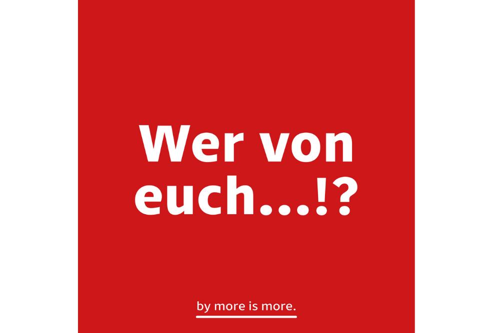 """MARKEN-Fundstück der Woche: """"WER VON EUCH"""""""