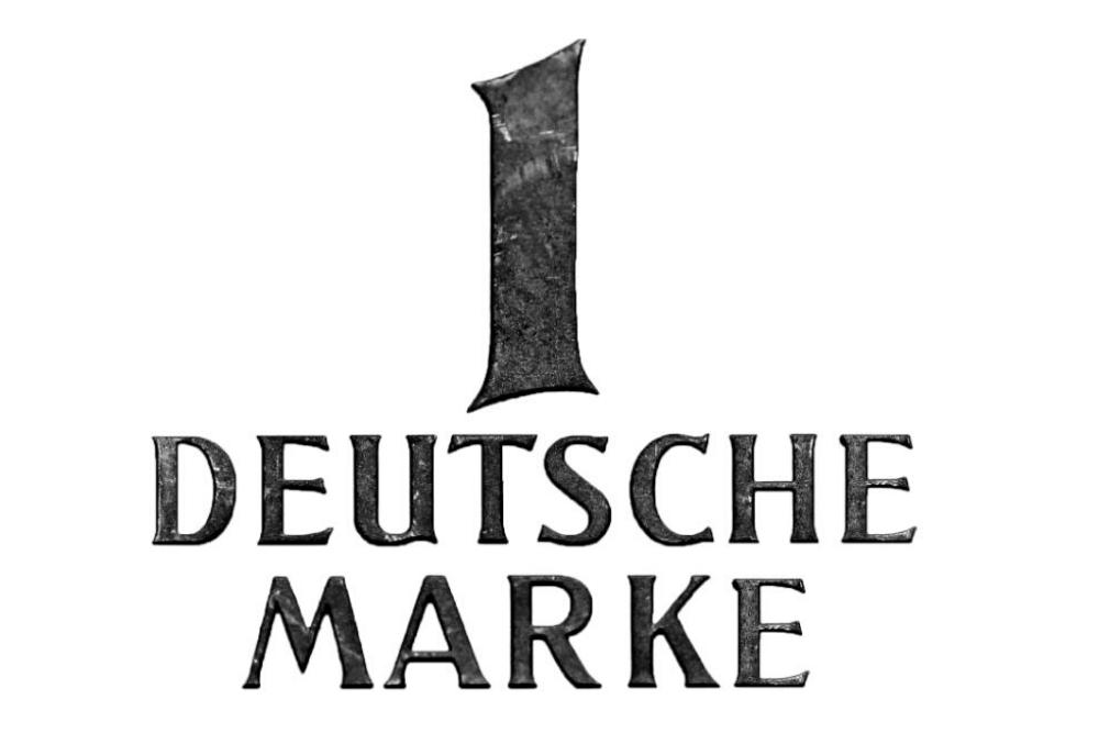 """MARKEN-Fundstück der Woche: """"1 DEUTSCHE MARKE"""""""