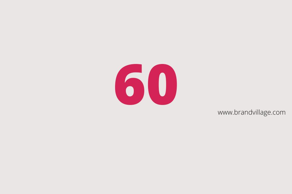 """MARKEN-Fundstücke der Woche: """"60 """""""