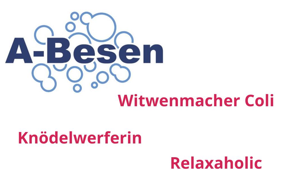 """MARKEN-Fundstücke der Woche: """"Witwenmacher, A-BESEN, Relaxaholic, Knödelwerferin"""""""