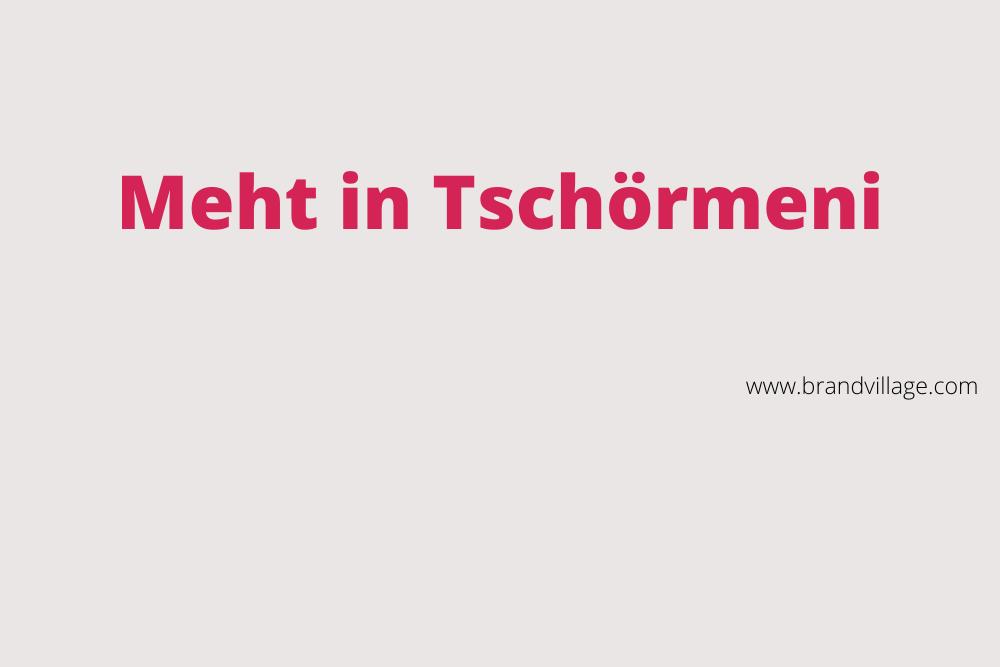 "MARKEN-Fundstücke der Woche: ""Meht in Tschörmeni"" ((MADE in Germany)"