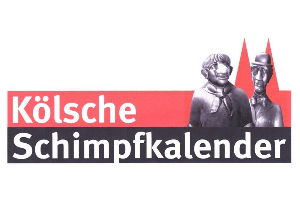 """MARKEN-Fundstück der Woche: """"KÖLSCHE SCHIMPFKALENDER"""""""