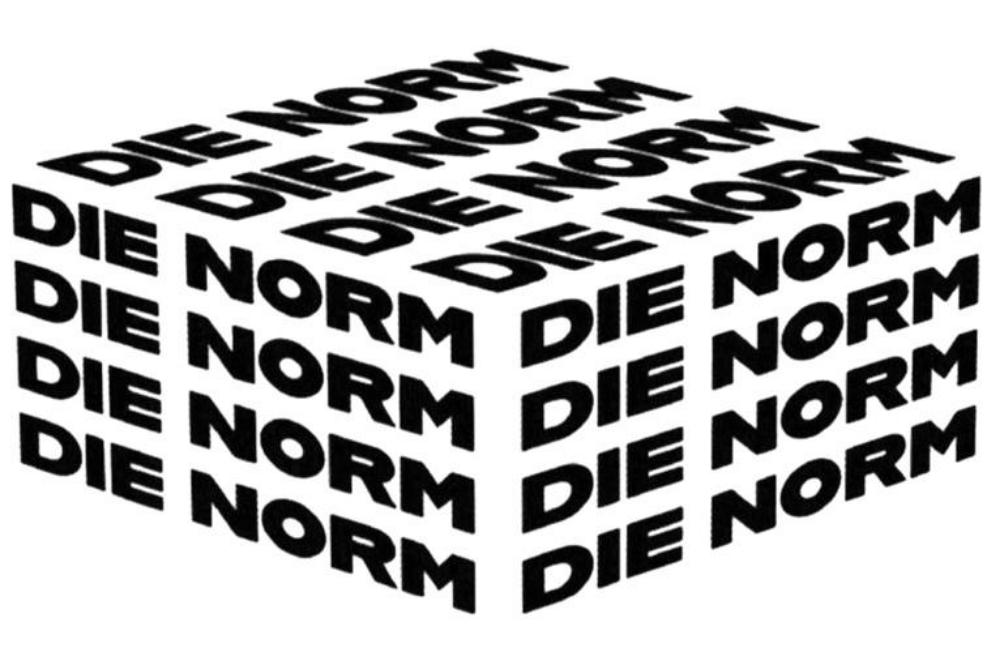 """MARKEN-Fundstück der Woche: """"DIE NORM"""""""
