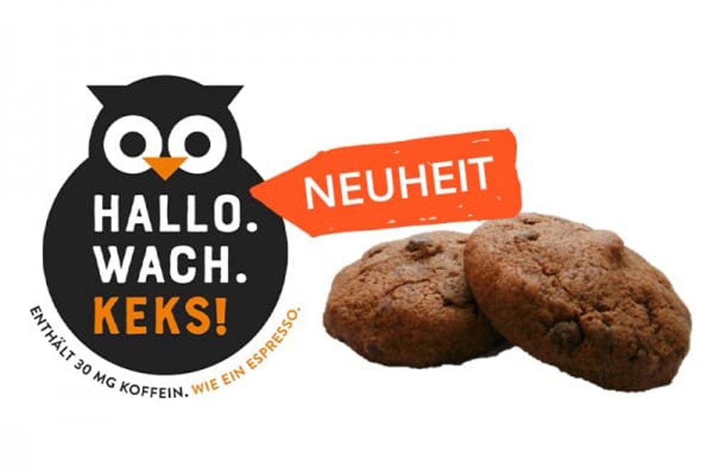 """MARKEN-Fundstück der Woche: """"Hallo Wach Keks"""""""